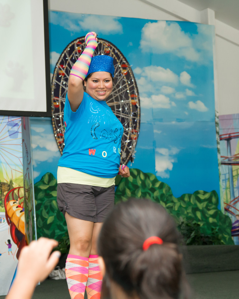 One of our many talented VBS Dance Leaders